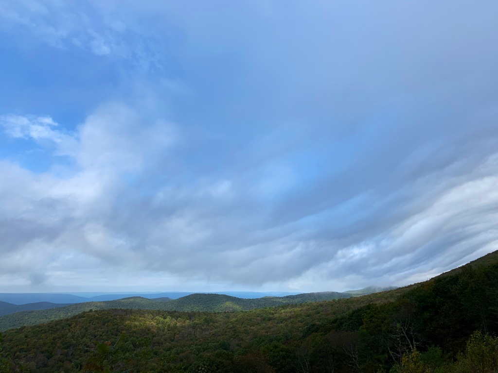 View from Skyline Drive.